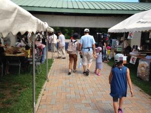 茅ヶ崎里山公園 テント