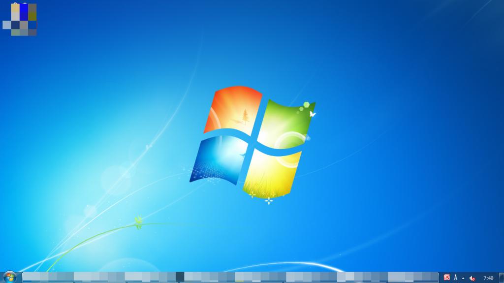 デスクトップの画面 ウィンドウズ