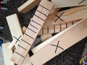 木材の切断 (2)