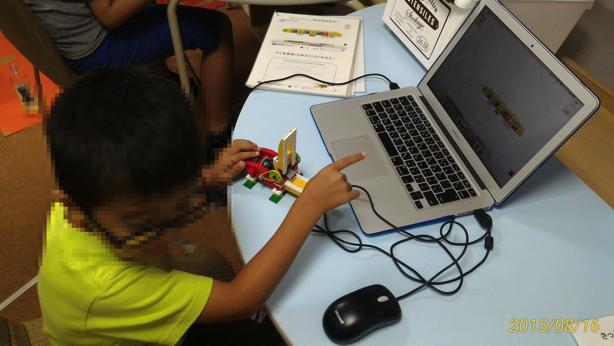 幼稚園児でもできる、レゴロボットをプログラミングで動かすイベントに参加しました