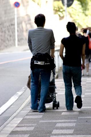 子育てにおいて、目的のない散歩を楽しめるように
